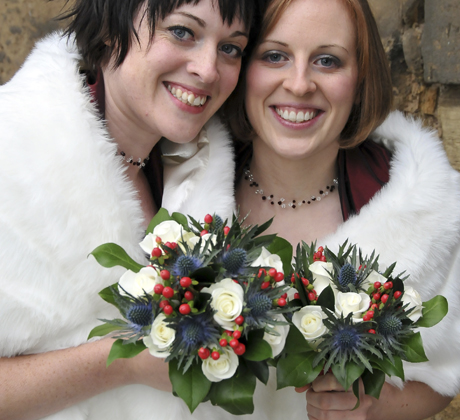 Balgonie Castle Wedding Flowers