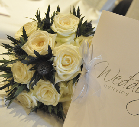 Houston House Hotel Wedding Bouquet